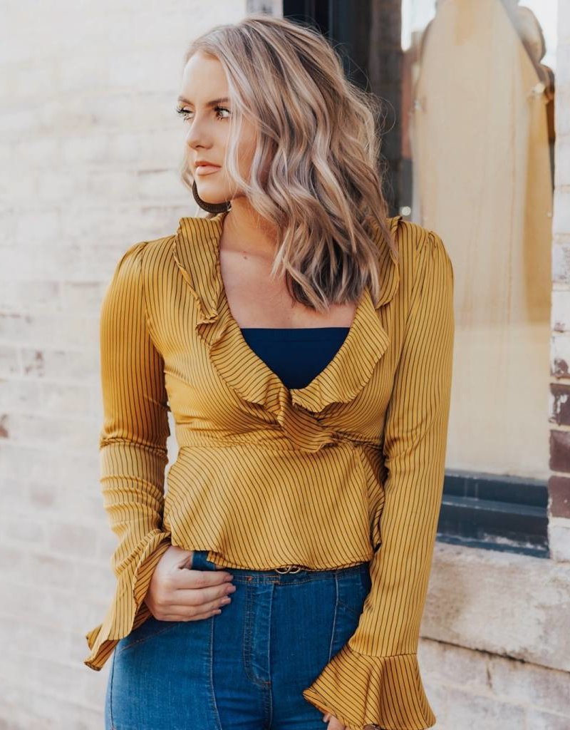 LUXE Well Known Business Blouse