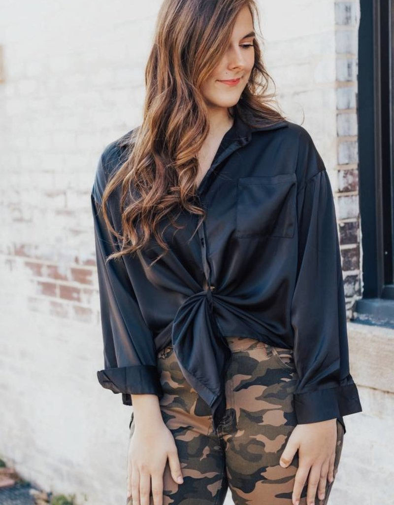 LUXE Keeping it Classic Button Up Blouse