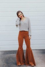 LUXE Good Vibes Bell Bottom Pant