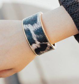 LUXE City Nights Leopard Print Cuff