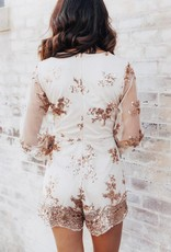 LAYNEE & LEE Can't Lose This Love Sequin Romper