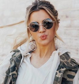 LUXE I See You Round Rem Sunnies