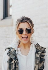LUXE Come Around Frame Sunnies