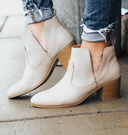 LUXE Keep It Moving Stone Bootie