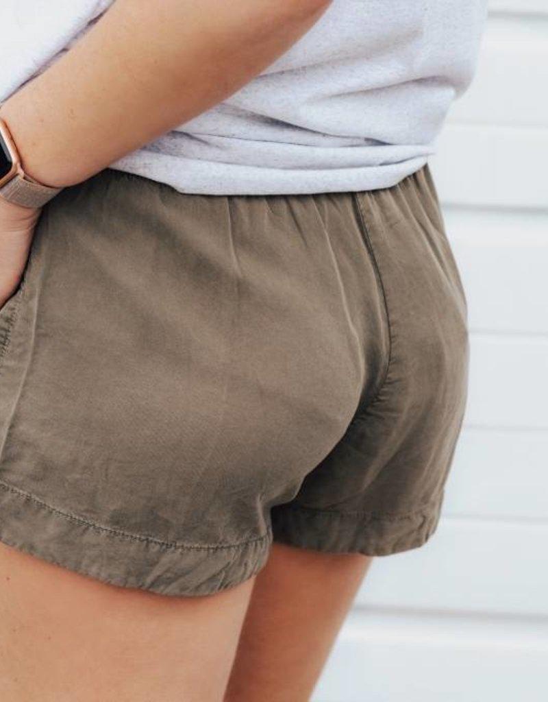 LUXE Fun in the Sun Woven Shorts