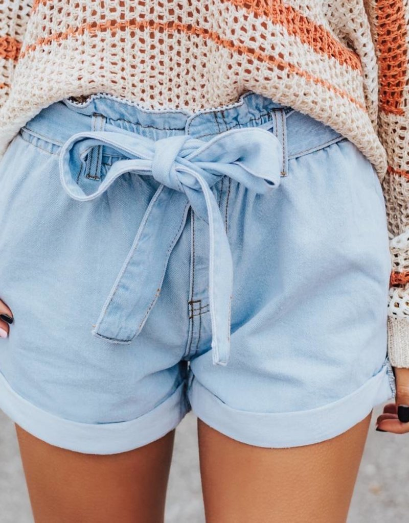 LUXE Adventure Awaits Paperbag Shorts
