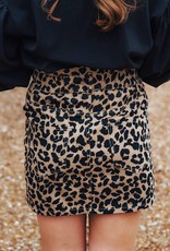 LUXE Going Wild Paperbag Skirt