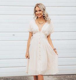 LUXE Light-Hearted Fun Midi Dress