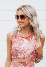 LUXE Bring On The Beach Crop Top