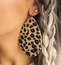 LUXE Loving It Leopard Print Earring