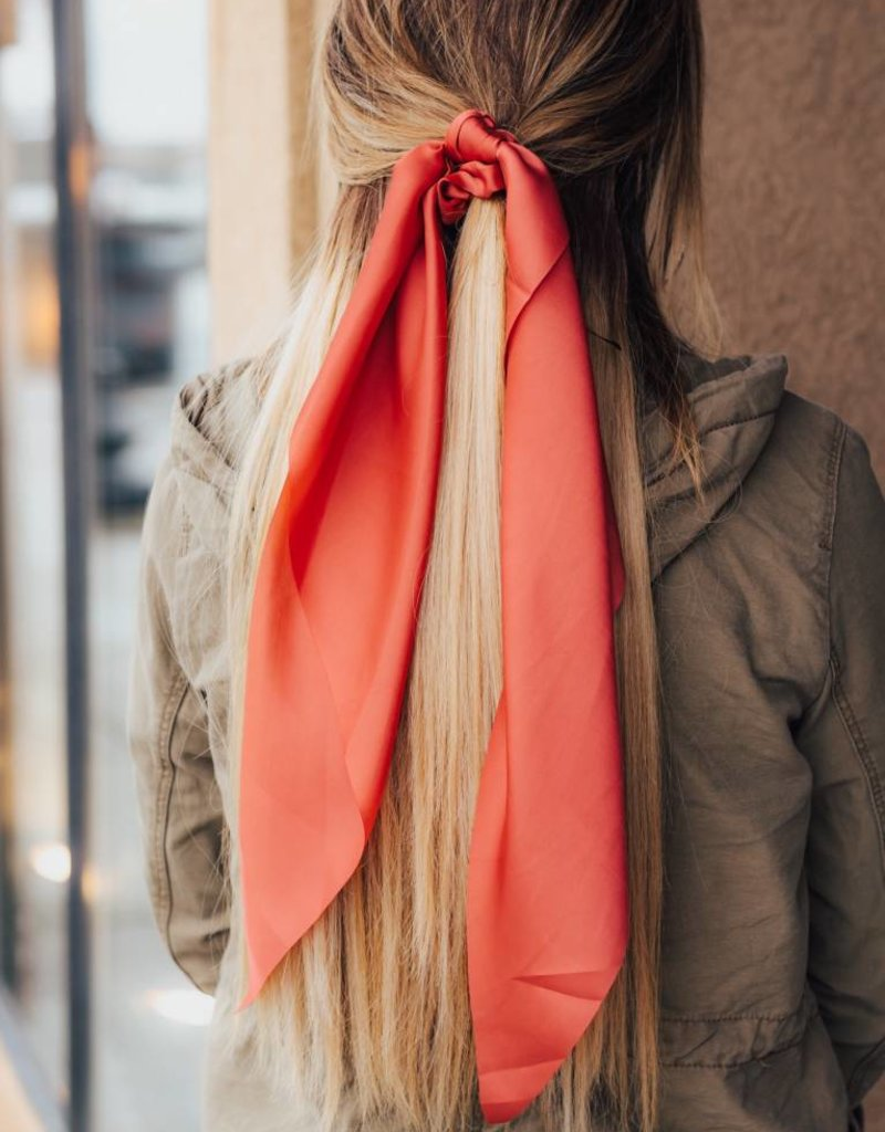 LUXE Simple & Chic Silk Hair Scarf