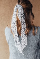 LUXE Song to Sing Leopard Hair Scarf