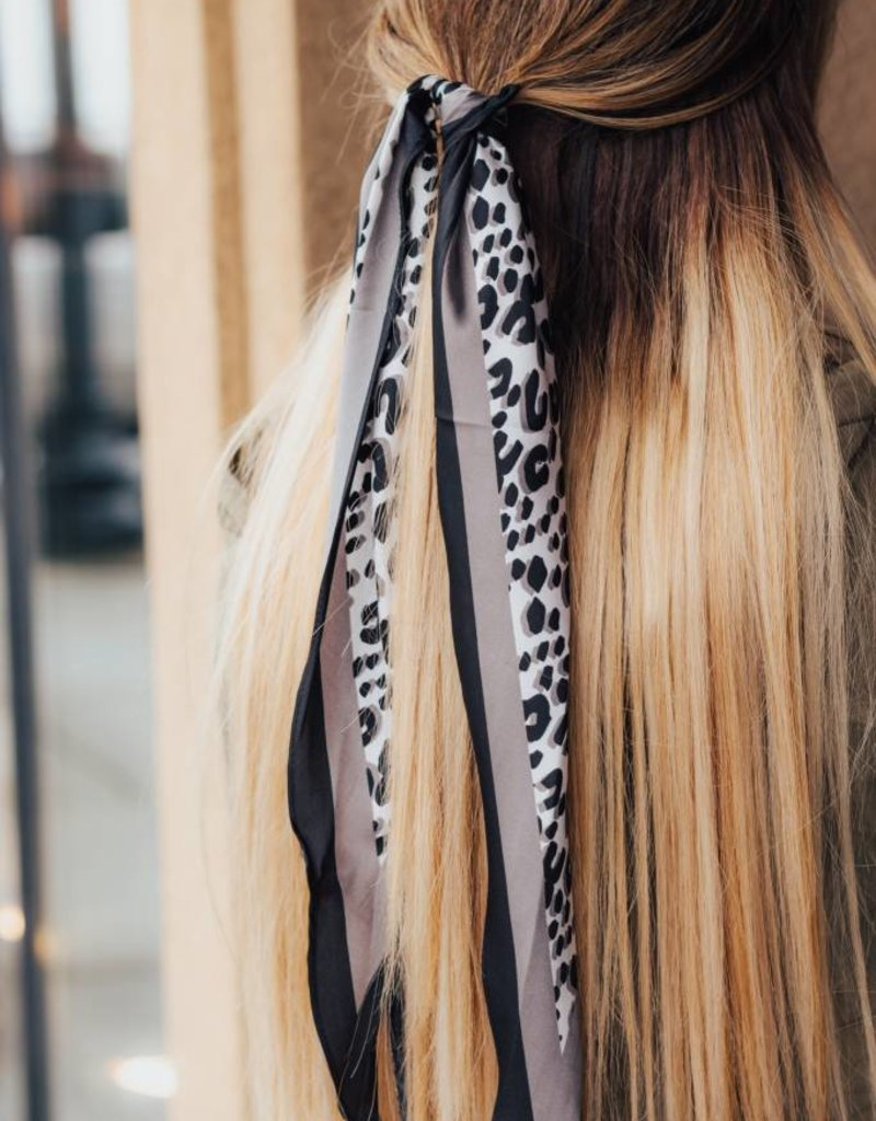 LUXE Give Me It All Leopard Hair Scarf