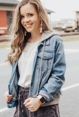 LUXE I'll Always Choose You Denim Jacket