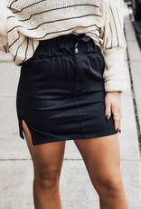 LUXE Have All The Fun Paperbag Skirt