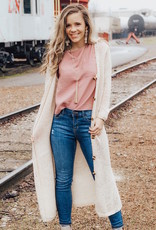 LUXE Neutral Territory Duster Cardigan