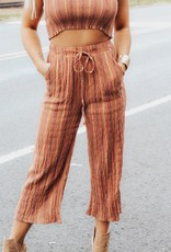 LUXE Whisk Me Away Gaucho Pant