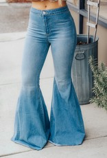 FREE PEOPLE Float On Flare Denim Jean