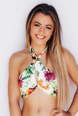 LUXE Summer Love Floral Bikini Top
