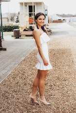 LUXE Quiet Grace Strapless Dress