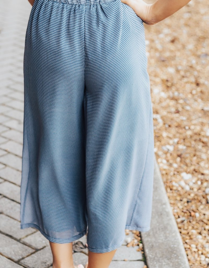 LUXE Play Me A Song Gingham Pant