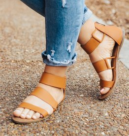 LUXE Summertime Escape Strappy Sandal