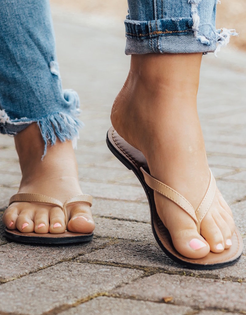 LUXE Summertime Fun Flip Flops