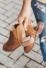 LUXE Bold Step Peep Toe Sandal