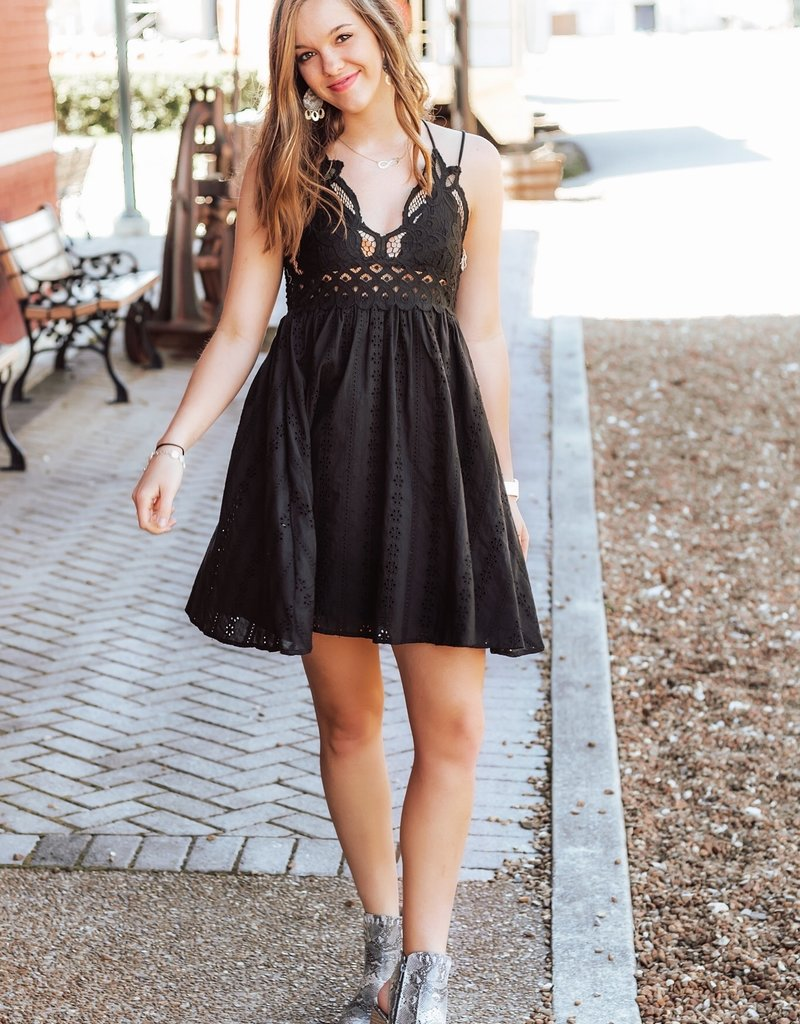 LUXE Looking For Love Lace Dress