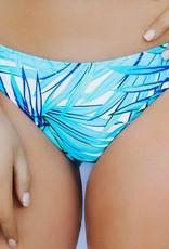 LUXE Palm Tree Paradise Bikini Bottom