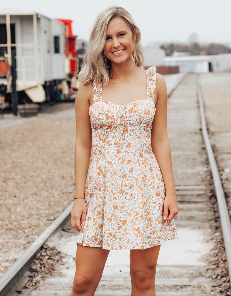 LUXE Let Your Dreams Blossom Mini Dress