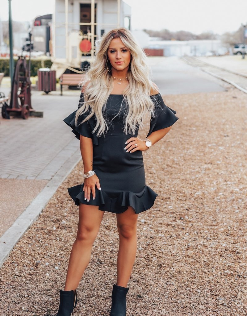 LUXE This Is Your Time Mini Dress