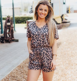 LUXE Wild About Spring Romper