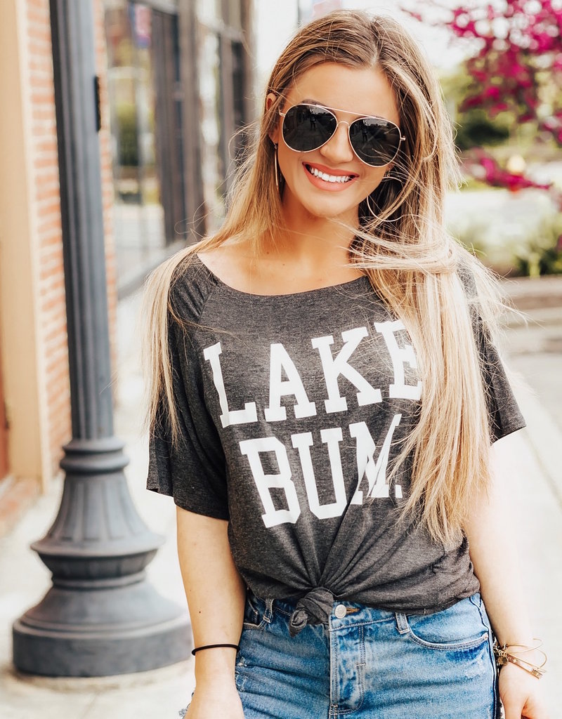 LUXE Lake Bum Graphic Tee