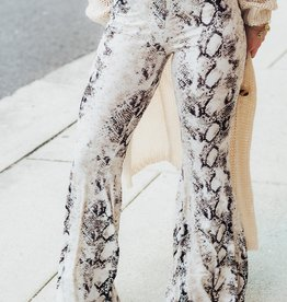 LUXE Destined For Greatness Python Pant