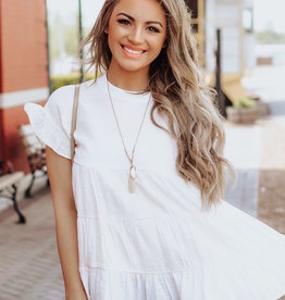LUXE Just As You Are Babydoll Top