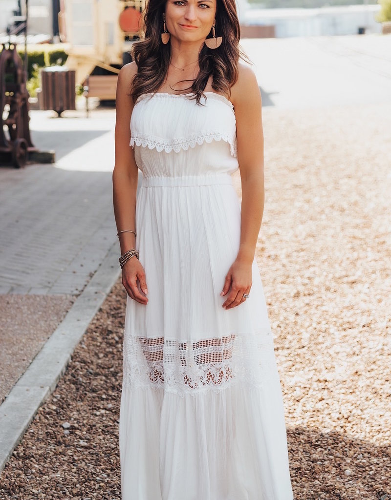 LUXE Never In A Hurry Maxi Dress