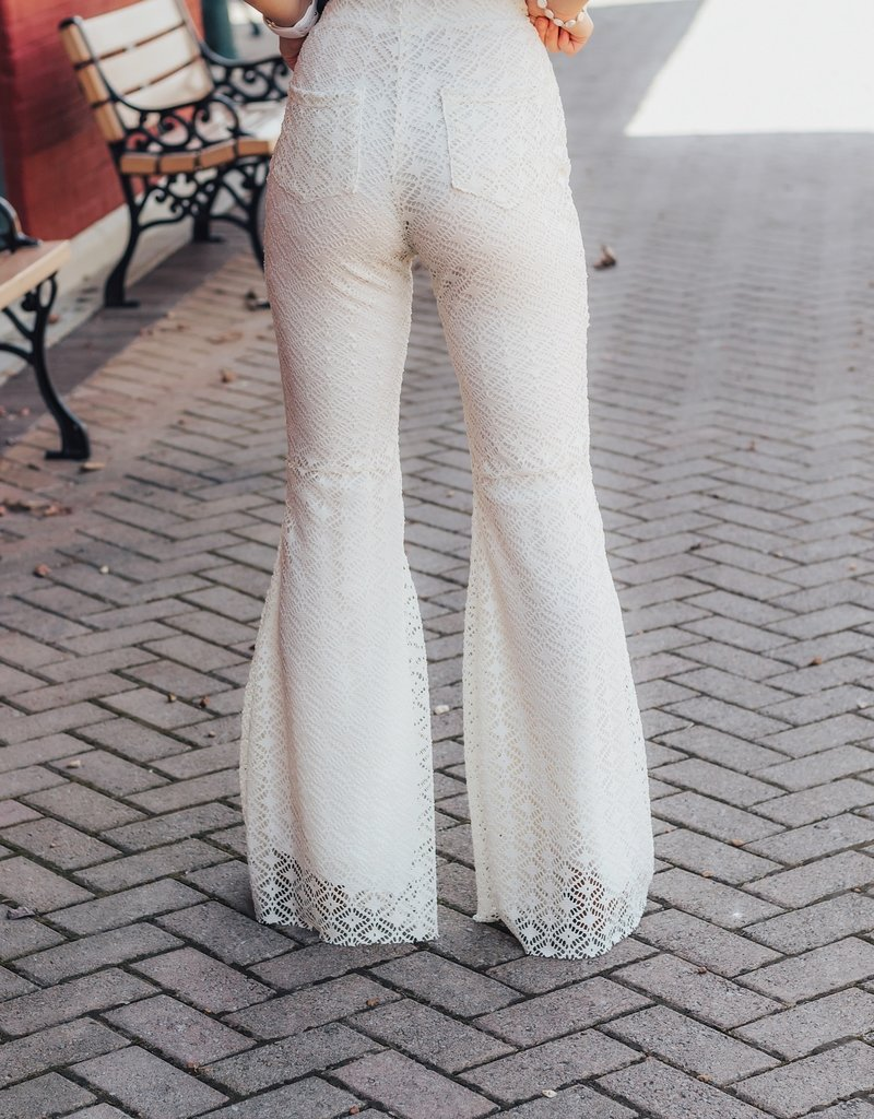 LUXE Summer Radiance Lace Pant