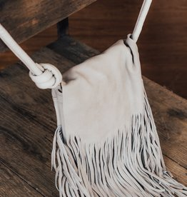 LUXE Always An Original Fringe Purse