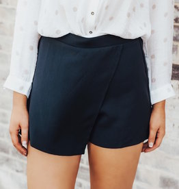 LUXE Never Too Busy Envelope Skort