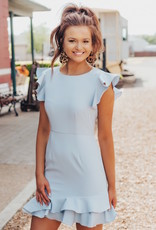 LUXE At First Glance Mini Dress