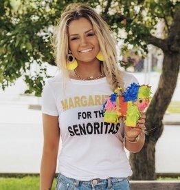 "LUXE ""Margaritas For The Senoritas"" Graphic Tee"