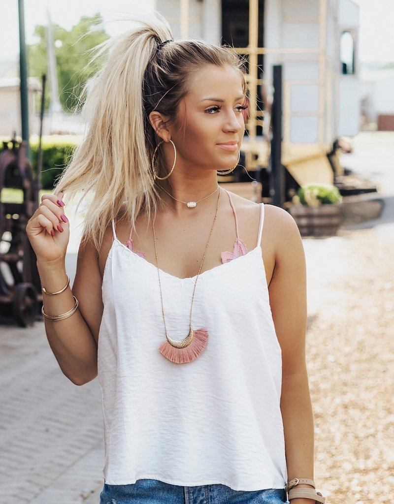 LUXE Making Changes Scalloped Tank