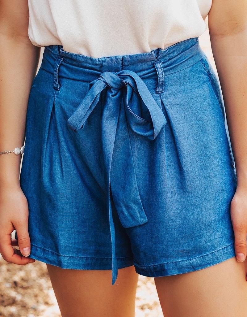 LUXE Secretly Sweet Denim Shorts