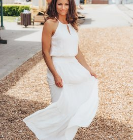 LUXE Summer Romance Embroidered Maxi Dress