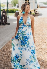 LUXE Thoughts Of Summer Floral Maxi Dress
