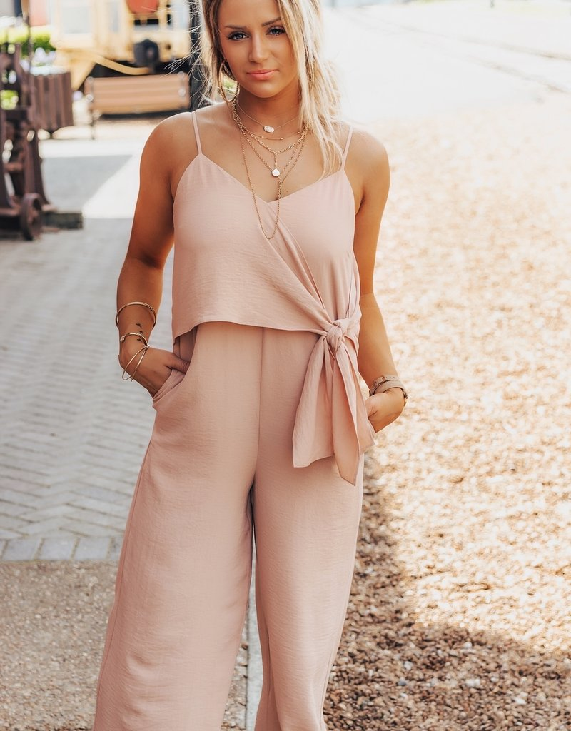 LUXE Fall In Love Again Jumpsuit