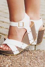 LUXE Take Your Step Wedge Sandals