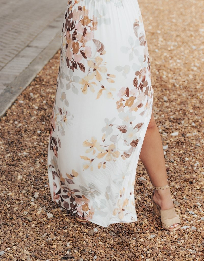LUXE Divine Together Floral Maxi Skirt