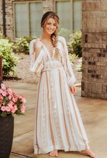 LUXE Sunset Getaway Maxi Dress